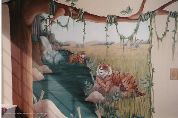 Painted Wall Murals 28+ [ hand painted murals on walls ] | wall painting mural ideas