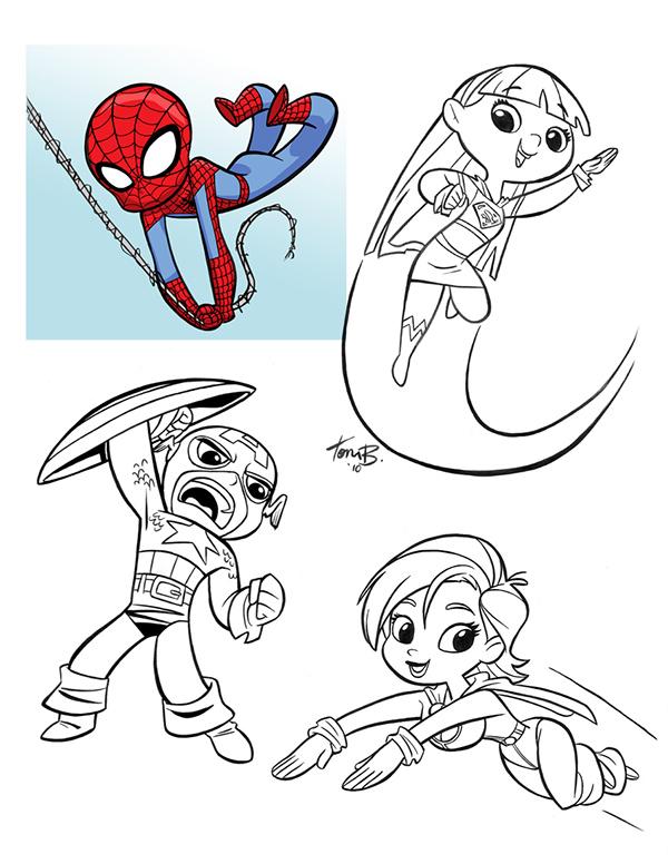 Marvel Character Design Behance : Character designs on behance
