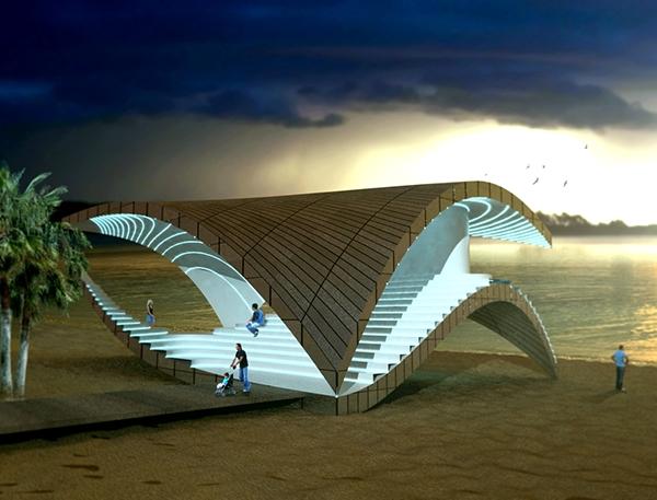 Concept architecture on behance for Pavilion concept architecture