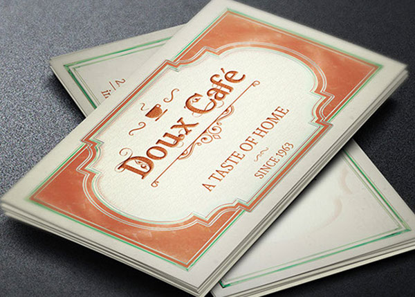 French cafe business card template on behance cafe business card template download colourmoves