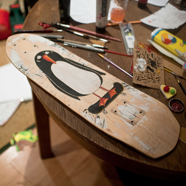 custom skateboard ideas on behance