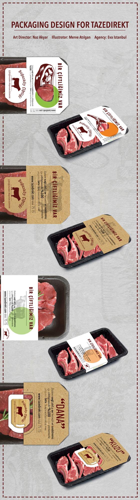 sleeve meat box e-commerce fresh steak lamb market
