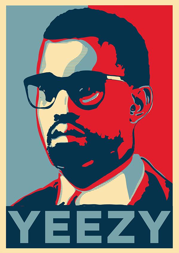 Kanye West Poster on Behance