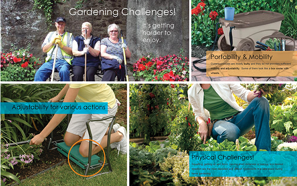 mobility gardening aid hops and rocks high portability