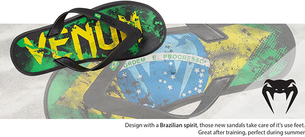 flip,flop,tong,chaussure,footwear,shoe,tongs,Venum,MMA,sport,plage,sand,sole,Upper,Brazil