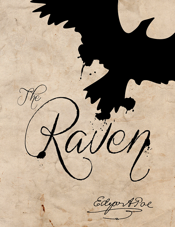 The Raven Book Cover on Behance