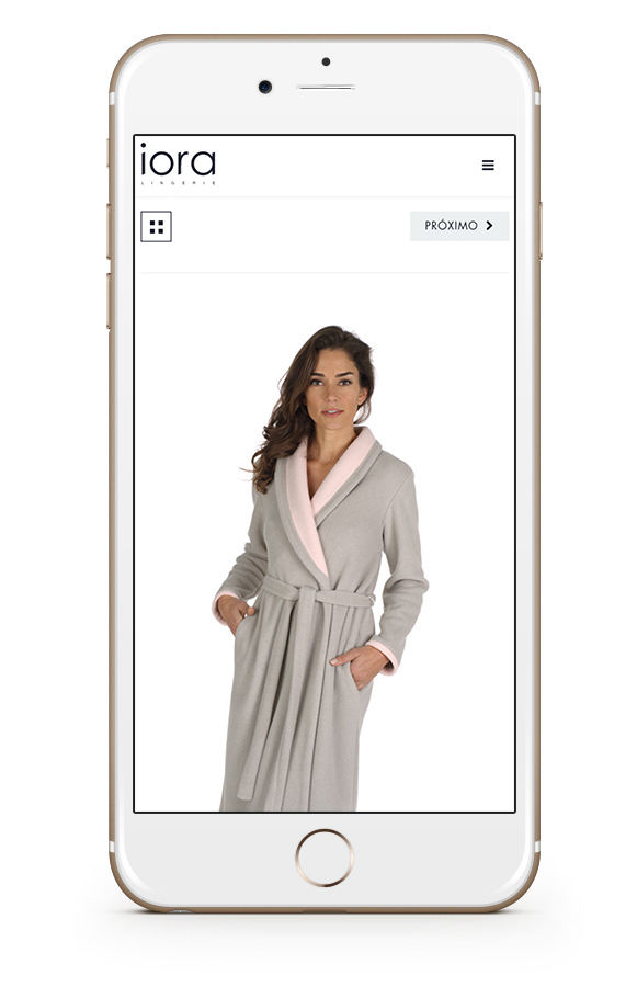 iora Web digital lingerie