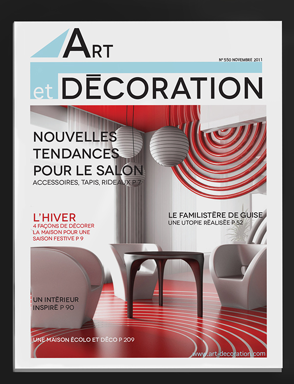 Magazine Design Intérieur magazine design - design de magazine on behance
