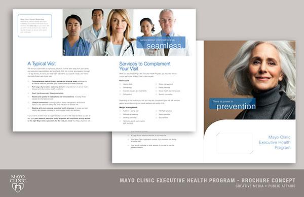 Mayo Clinic Executive Health Program on Behance