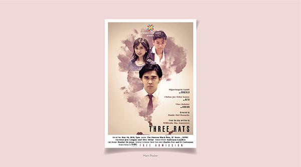 Poster Design   Three Rats 2018