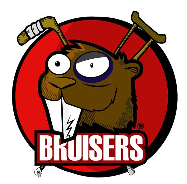 Ball Hockey Logo Bruisers Ball Hockey Team Logo