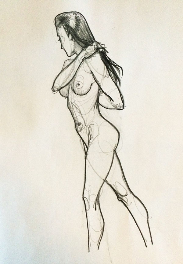 Drawings Of Nudes