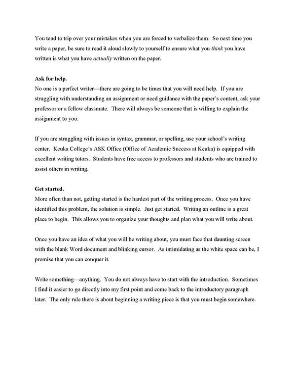 Expository prose essays