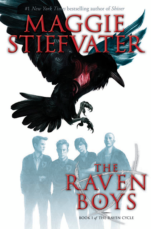 Image result for the raven boys book cover