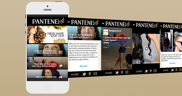 Mobile Advertising landing page