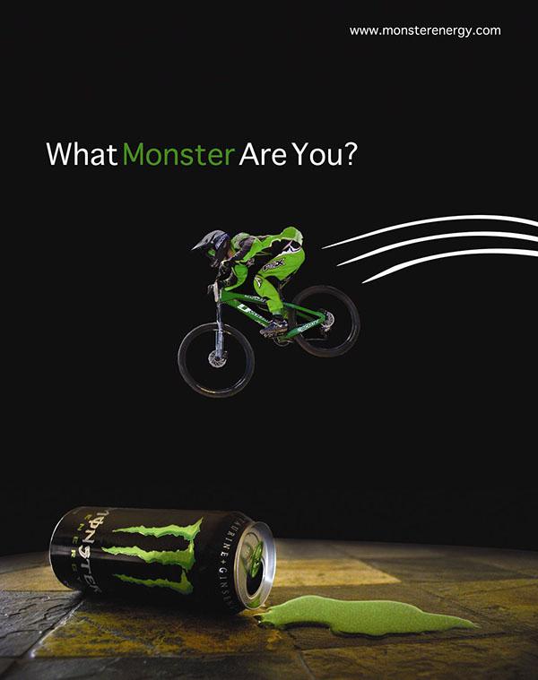 monster energy magazine ad on behance
