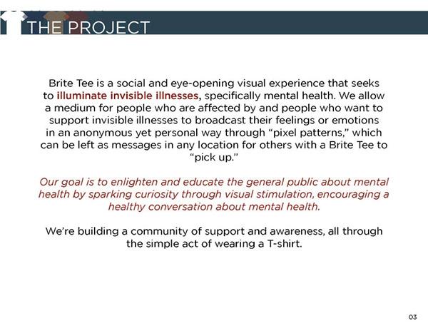led shirt bright shirt invisible illness