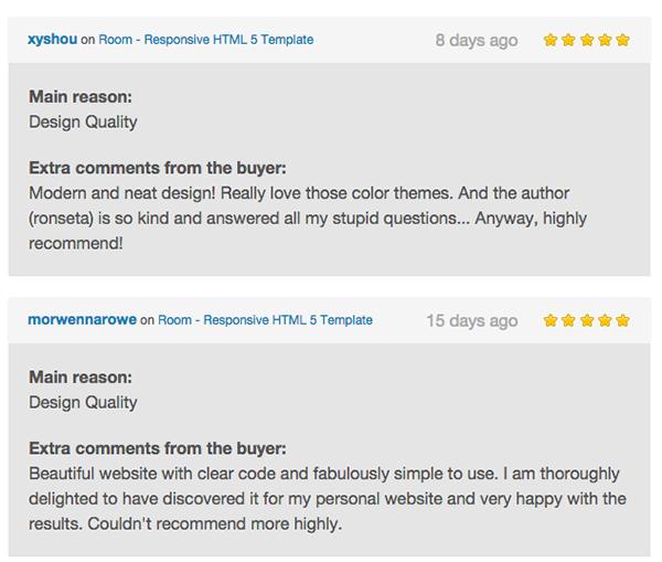 Room - Responsive HTML 5 Template