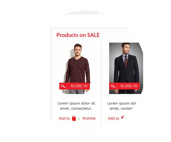 Web design Proposal shop