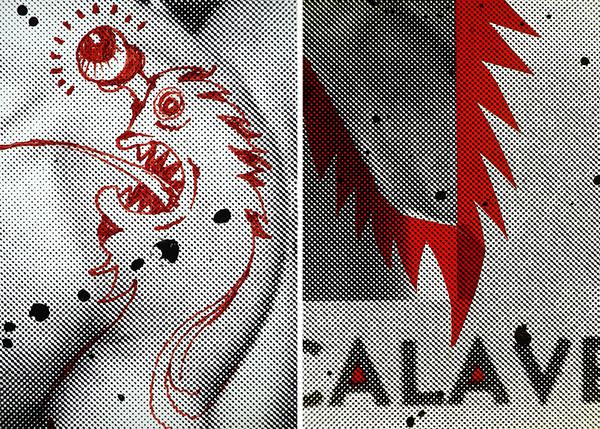 Zine ,silkscreen,silk screen,Serigraphy,serigraph,screen print,screenprint,printmaking,DIY,Unique,random,silver,gold,fluorescent