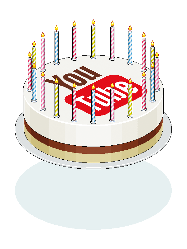 Happy Birthday Youtube On Behance