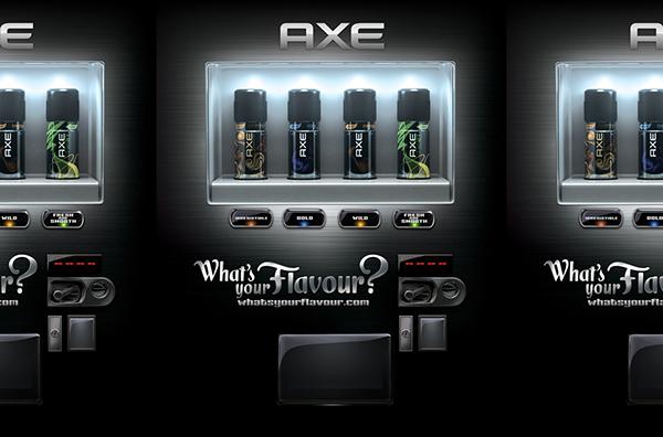 axe vending machine logo