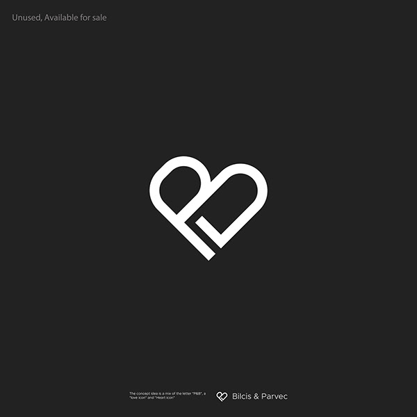 PB letter with Heart logo