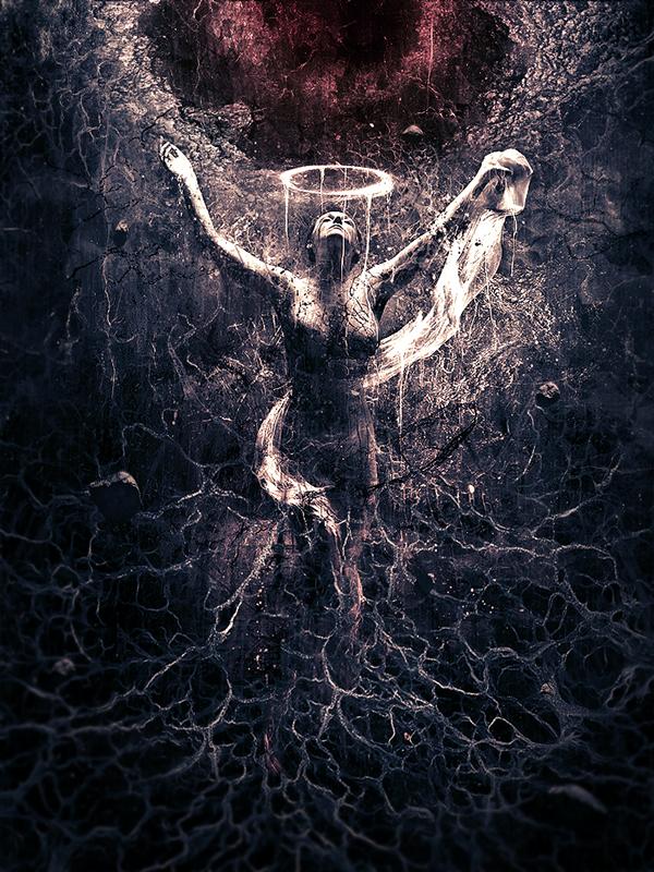 Karim Fakhoury  KarimFakhoury  karim Experimental Serie The Demon Inside me  lucifer  Lucifera photomanipulation  digital painting