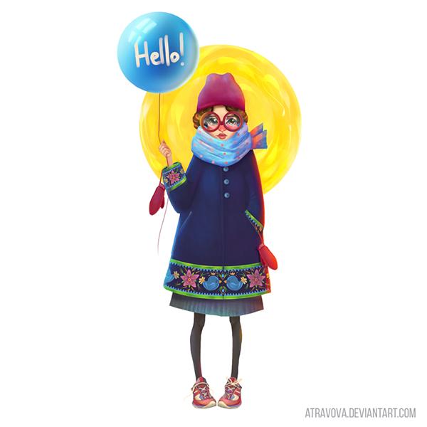 Character Design Job Singapore : Random girl part of process on behance