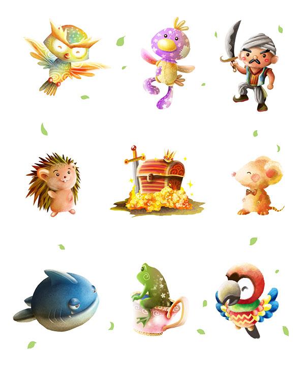 Creative Character Design Book : Papercaptain is my personal children illustration studio