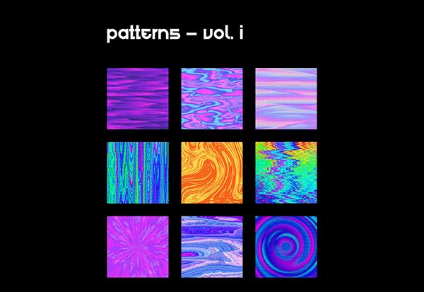 PATTERNS – VOL. I