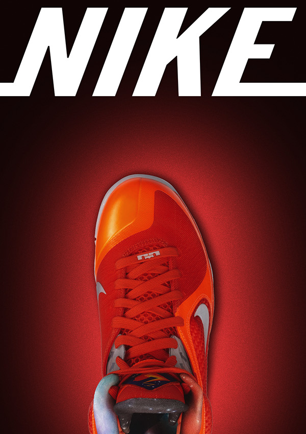 Nike Shoe Poster Advertisment on Student Show