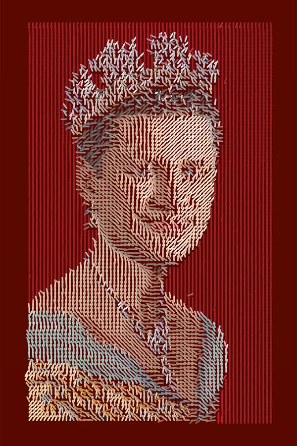 queen elisabeth II Stephen Harper algorithmic art politics Canada royalty commonwealth colony