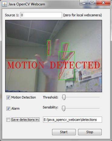 Java + OpenCV + Webcam on Behance