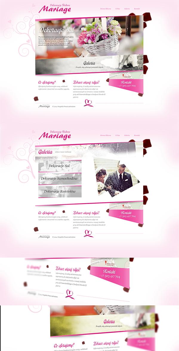 dekoracje ślubne mariage dekoracje mariage mariage stargard dekoracje ślubne stargard Wedding Shop wedding template wedding design wedding webdesign wedding theme