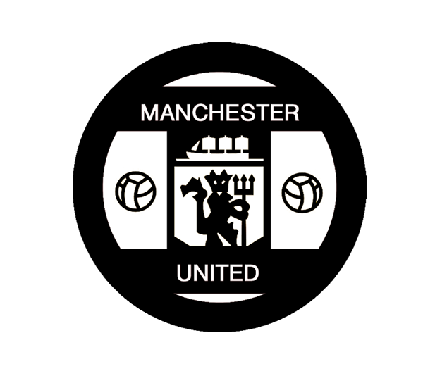 manchester united fc logo redesign on behance