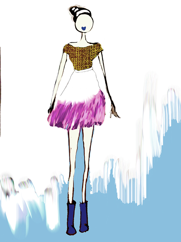 Some Fashion illustrations and designs