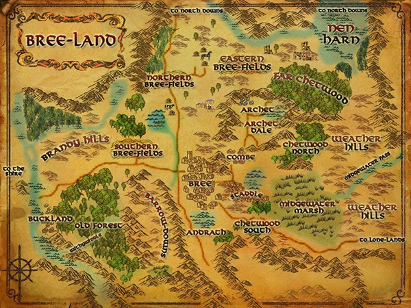 Lord of the Rings Online UI UX Design on Behance – 3d Map of Middle Earth