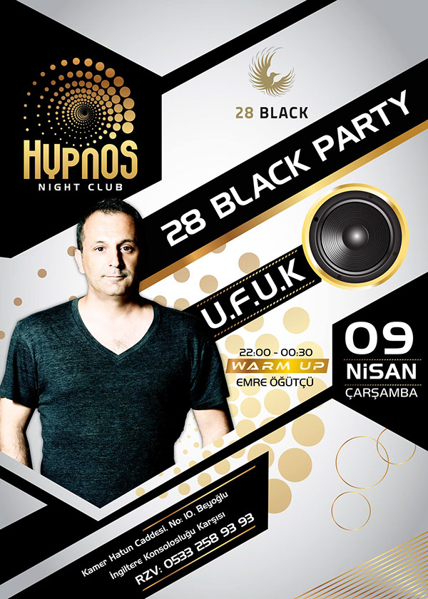 Hypnos Night Club Dj Posters On Behance