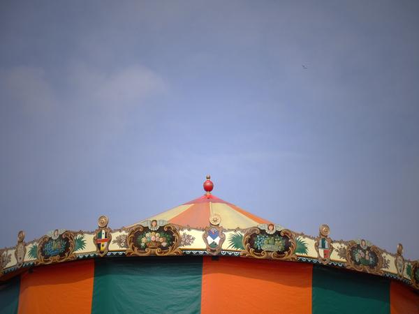 Fair Circus lights colorful