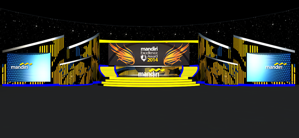 Mandiri Excellence Award Stage & Decoration on Student Show