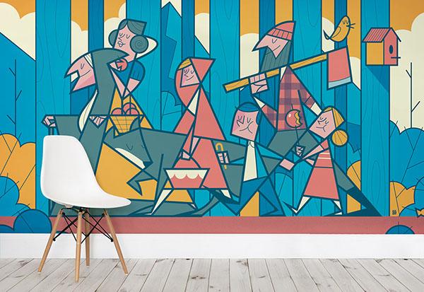 高品質的29張牆壁設計欣賞