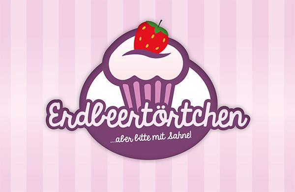 cupcake logo design on behance