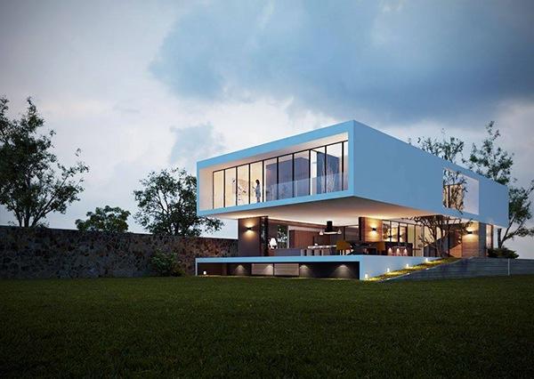 Casa 117 on Behance