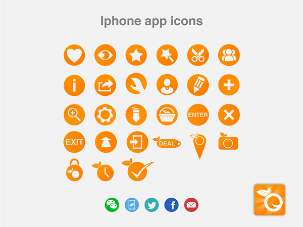icon and buttons design on Behance