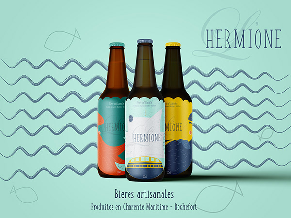 L'HERMIONE - A french beer brand