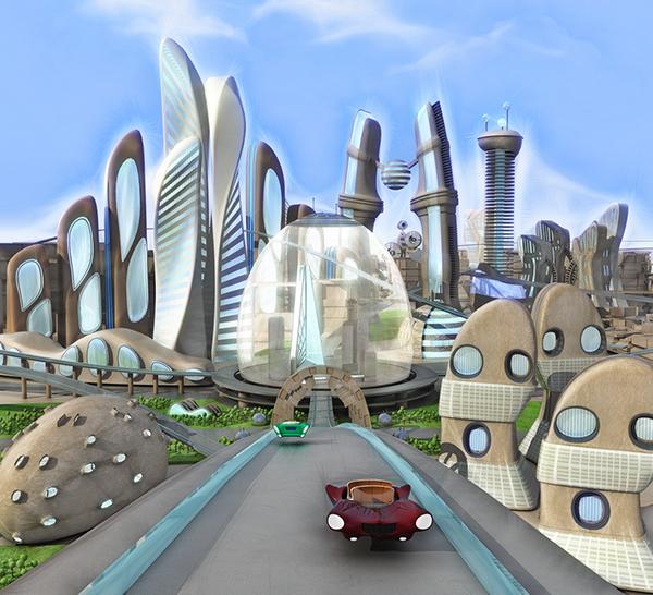 Cartoon Future Concepts On Behance
