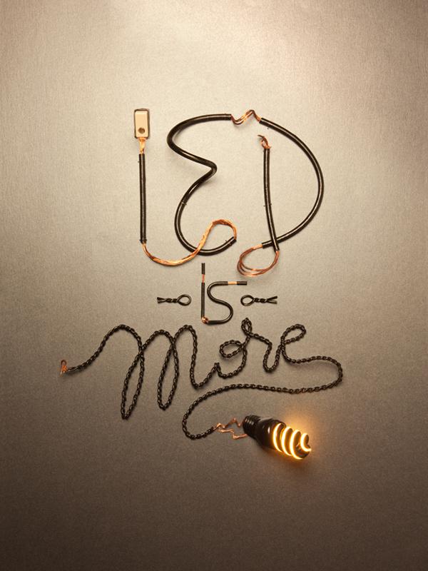 Mr.Da Dazee ied Istituto Europeo Design cried Centro Ricerche milano milan luce Lightbulb Electric Cable