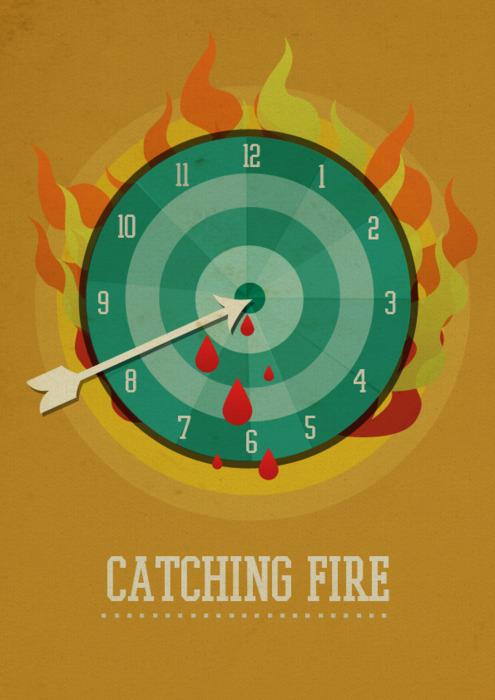 Minimalist Classroom Game ~ The hunger games minimalist posters on behance