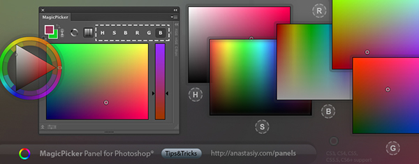 Choose Different Color Palettes From Wheel To Standard Photoshop Modes You Can Completely Replace Picker Adding